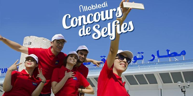 En photos : Concours de selfies à l'aéroport de Tunis