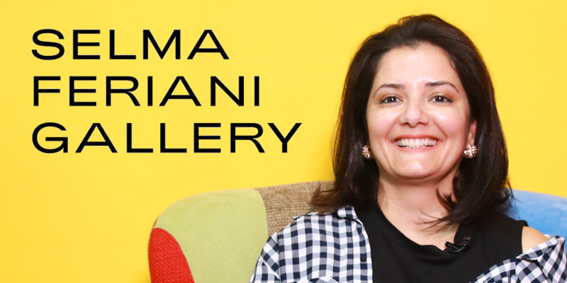 En vidéo : Selma Feriani, parcours d'une Galeriste entre Londres, Tunis et le Monde