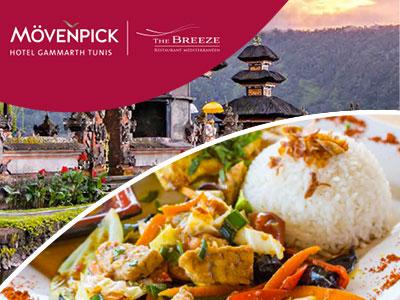 Semaine gastronomique Indonésienne du 8 au 14 Septembre au Moevenpick Hotel Gammarth