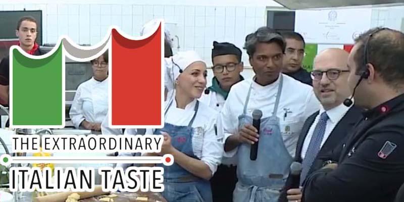 En vidéo : Démonstration culinaire pour entamer la semaine de la cuisine italienne