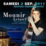 Mounir Letaief en concert au Sentido Tabarka