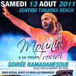 SENTIDO Tabarka Beach au rythme de Mounir TROUDI