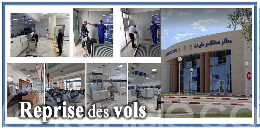 Aéroport de Sfax-Thyna : Le trafic aérien reprend sous contrôle