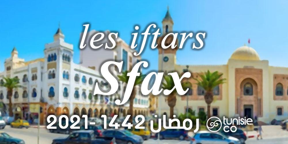 Liste des iftars à Sfax