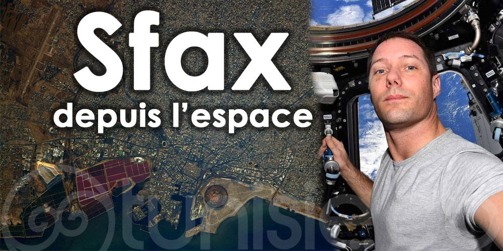 Thomas Pesquet: Sfax en Tunisie, la géométrie de la ville est vraiment surprenante à observer
