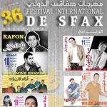 Programme détaillé du Festival International de Sfax du 11 juillet au 10 août 2014