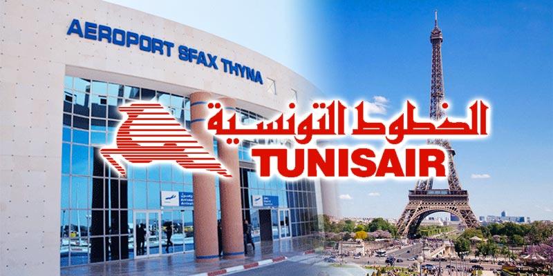 Tunisair : Reprise des vols Sfax-Paris après 4 ans d'absence