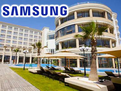 Quand le Sousse Palace s'associe à Samsung pour recevoir pour un weekend les journalistes spécialisés