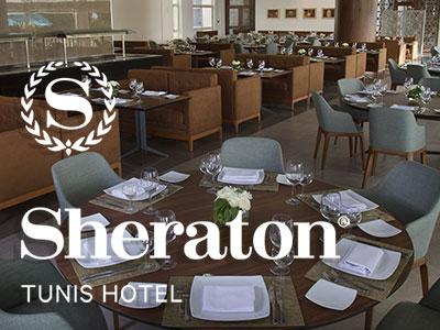 En vidéo : Le Sheraton Tunis inaugure Le Belvédère et offre un nouveau concept banquet