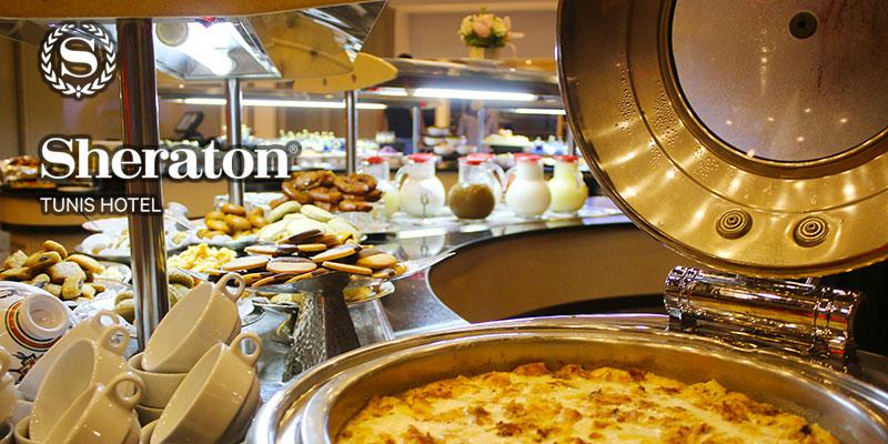 En vidéo : Découvrez l'Iftar en buffet au restaurant l'Oliveraie du Sheraton Tunis