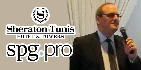 En vidéo : Christian Tomandl DG du Sheraton Tunis parle du programme SPG PRO