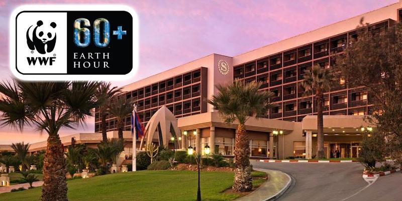 L'hôtel Sheraton Tunis soutient le mouvement mondial du Earth hour en éteignant les lumières pendant une heure de temps
