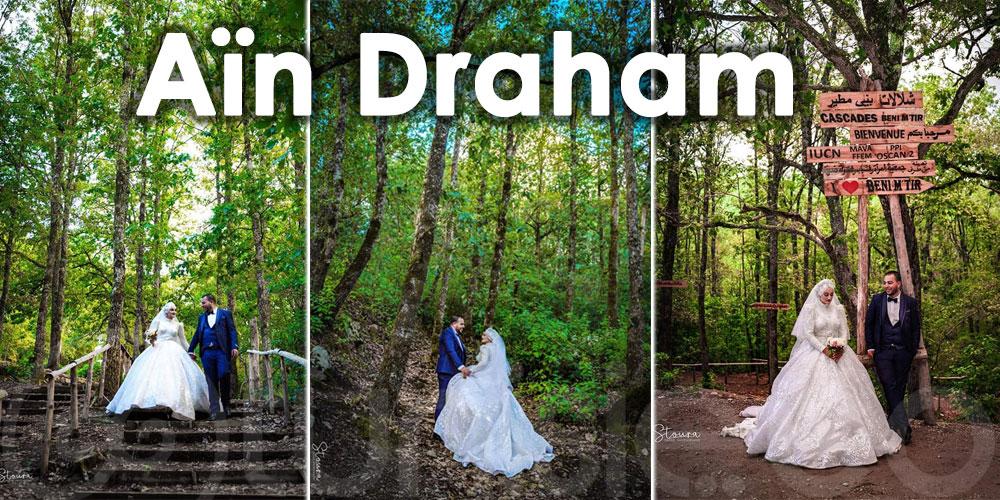 Un Shooting mariage exceptionnel au cœur de la forêt d'Aïn Draham