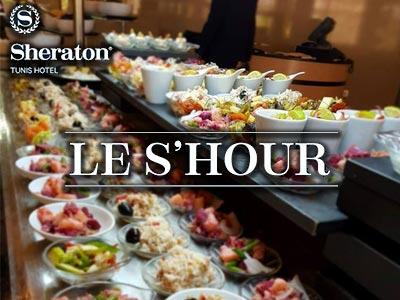 Savourez un délicieux Shour tunisien en buffet au Lobby lounge du Sheraton Tunis
