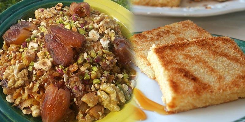 En photos : 8 spécialités culinaires tunisiennes nutritives à savourer au Shour