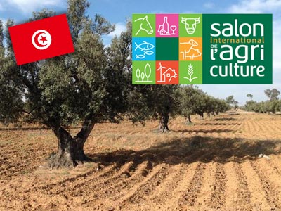 Journée de la Tunisie au Salon international de l'agriculture à Paris le 25 février