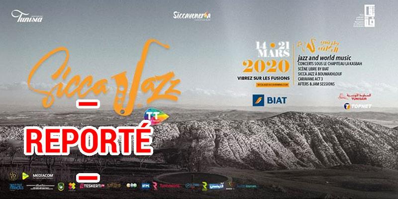 Le report de la sixième édition de Sicca Jazz 2020 by TT