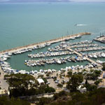 Port de plaisance Sidi Bou Said