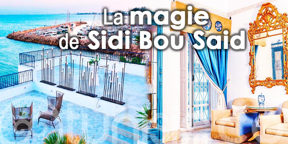 Zurab en visite à la perle bleue et blanche de la Tunisie, Sidi Bou Said
