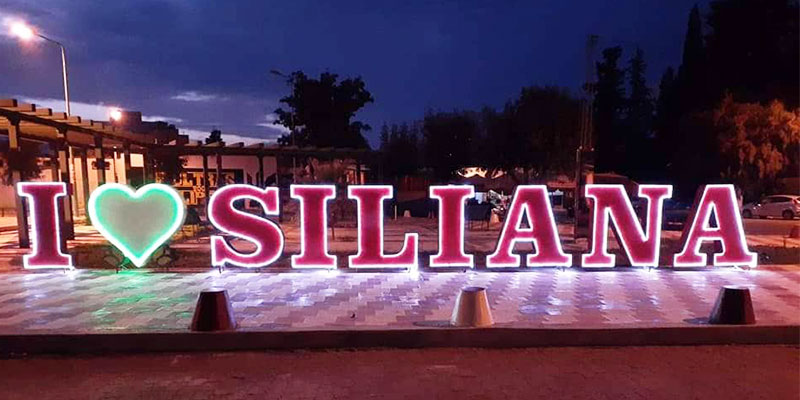 En photos: Les jeunes de Siliana déclarent leur flamme à leur ville