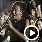 Photos et vidéo : Luca Sestak & Lisa Simone au Jazz à Carthage By Ooredoo