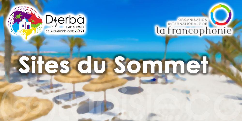 Sommet de la Francophonie Djerba 2021 : Voici les sites !
