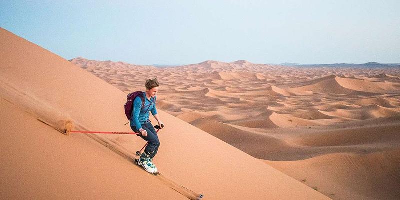 Le ski sur sable est désormais possible en Tunisie
