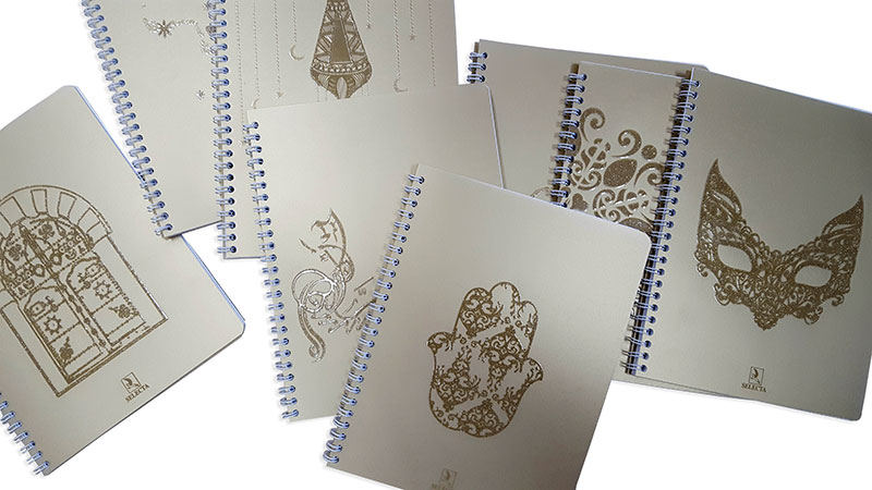Les cahiers SELECTA habillés en artisanat tunisien dans sa 2ème édition
