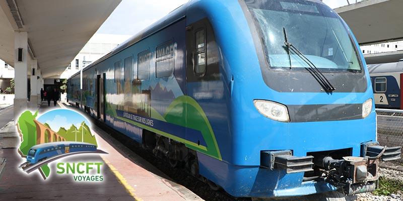 En vidéos : Découvrez le train premium de la SNCFT, pour le tourisme alternatif tunisien