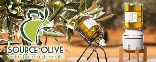 Source Olive, nouveau spécialiste de la livraison d´huile d´olive en bonbonne