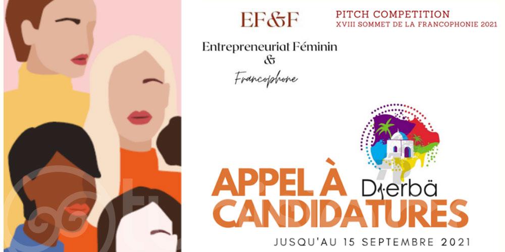 Concours de Pitchs, Sommet de la Francophonie, Djerba 2021