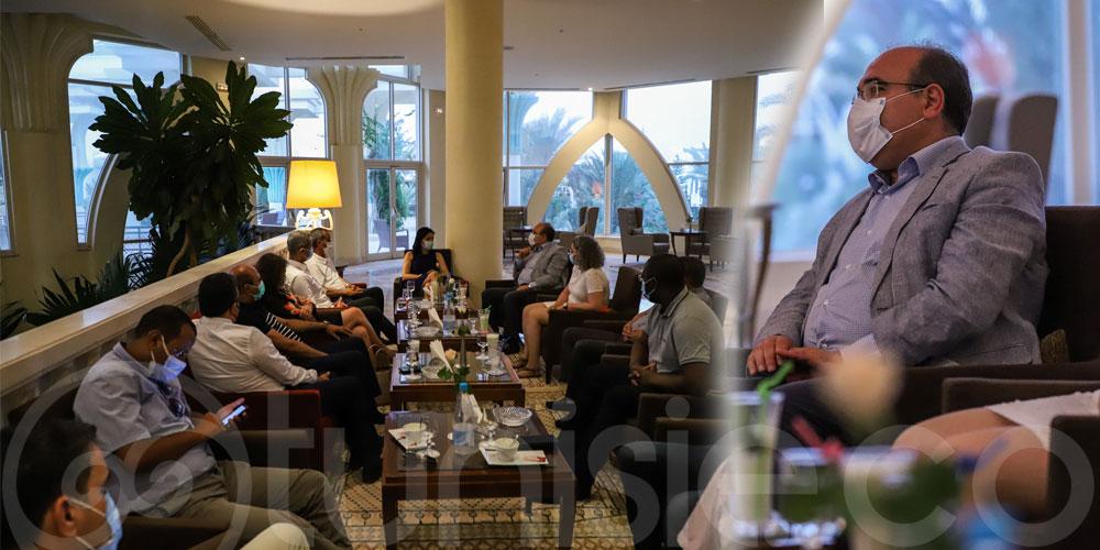 وزير السياحة يطلع على آخر الإستعدادات لاحتضان تونس للقمة الفرنكوفونية بجربة