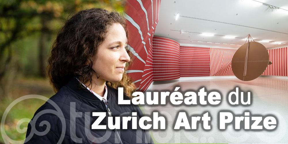 Sonia Kacem, artiste tuniso-suisse lauréate du Zurich Art Prize