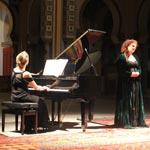 La Soprano Judith Mok et la pianiste Dearbhla Collins font vibrer l'auditoire de l'Acropolium de Carthage