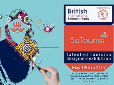 So Tounsi, l'expo qui célèbre la créativité tunisienne au British International School of Tunis