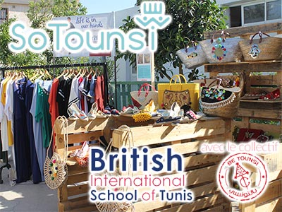 En photos :  So Tounsi, l'exposition artisanale à la British International School of Tunis