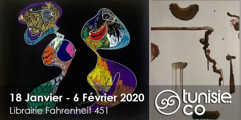 Exposition d'oeuvres de Soufia Bensaïd de 18 Janvier au 6 Février 2020