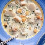 Recette : Soupe d'avoine aux fruits de mer