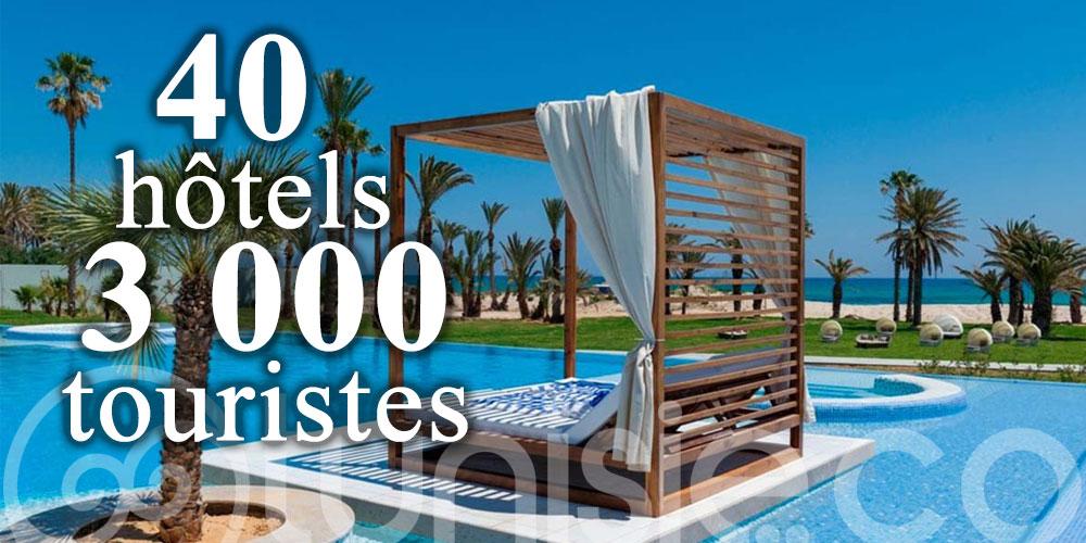 40 hôtels à Sousse ont déjà accueilli plus de 3 000 touristes