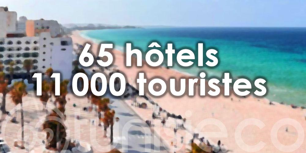 65 hôtels rouvrent à Sousse et accueillent plus de 11 000 touristes