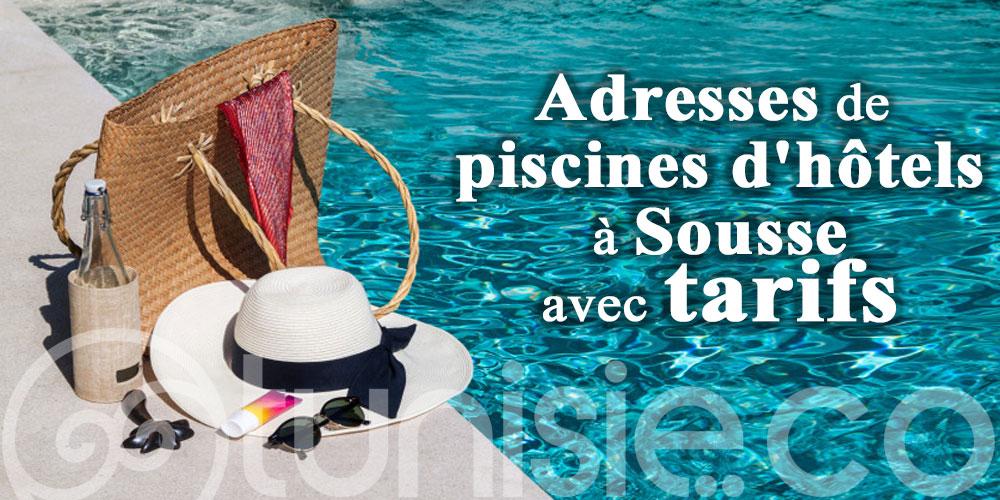 Où se baigner à Sousse ? Adresses de piscines d'hôtels avec tarifs