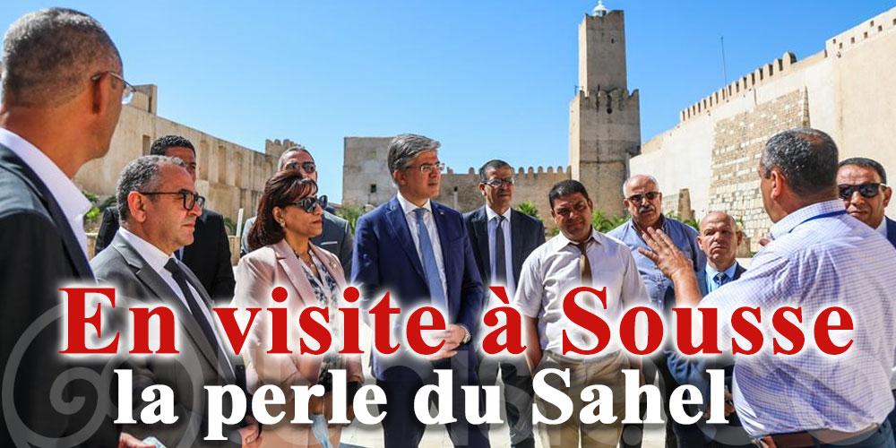 Le ministre du Tourisme en visite à Sousse, la perle du Sahel