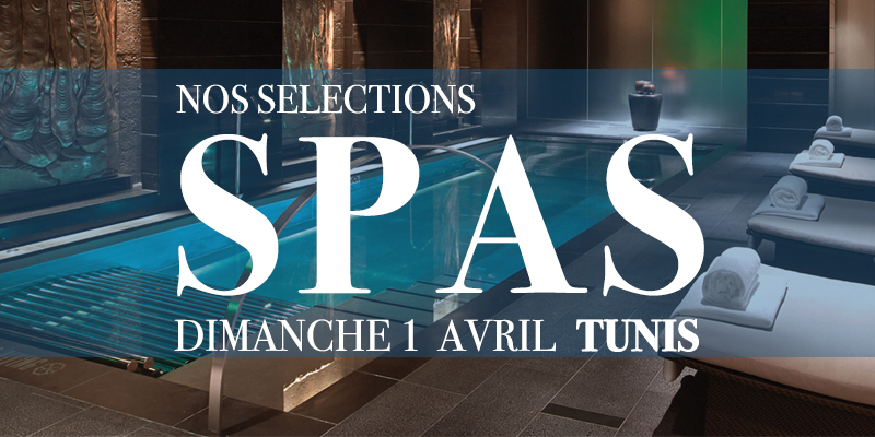 5 Spas pour le Week-end du 1er Avril
