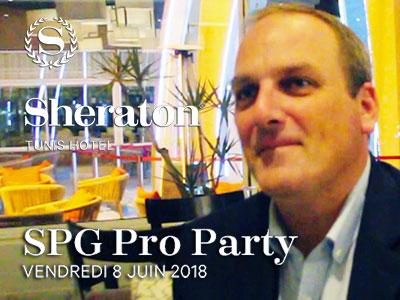 En vidéo : Le Sheraton Tunis célèbre ses partenaires SPG Pro