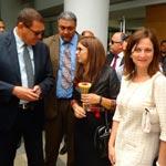 Amel KARBOUL en visite à l'Aquasplash Thalassa Sousse