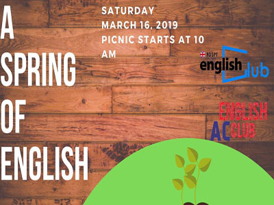 Spring of English, le pique-nique linguistique