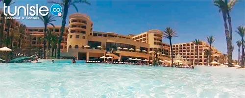 Vidéos sous-marines de la plage et de la piscine du Mövenpick Sousse
