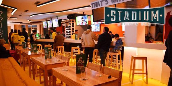 Stadium, nouveau sport´s bar destiné aux amateurs de Foot à Sousse