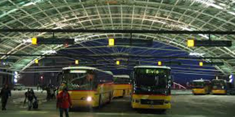 Vers la construction d'une station de bus souterraine à la place Barcelone