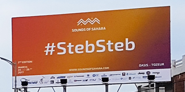 En photos : La campagne d'affichage originale de Sounds of Sahara